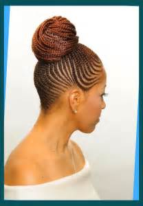 afro braids minmising the appearance of a receding hairline latest cornrow braids updo hairstyles for black women 2016