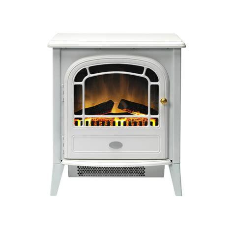 dimplex courchevel electric stove in matt white cvl20n