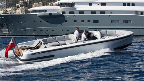 tenders  day boats heading   monaco yacht
