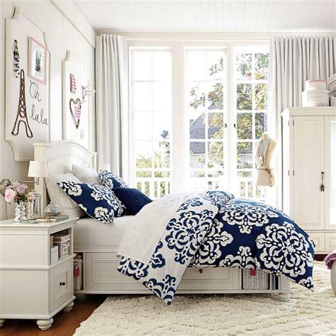 pb bedrooms chelsea storage bed pbteen