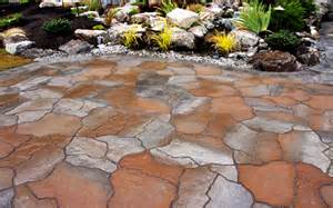 Flagstone Pavers Patio Deerwood Landscaping Abbotsford Concrete Interlocking