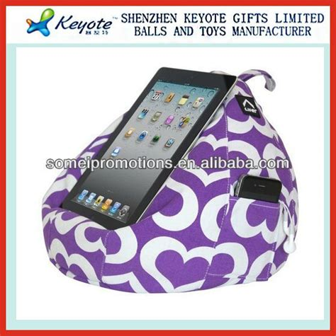 bean bag tablet holder bed stand bed stand and tablet holder on