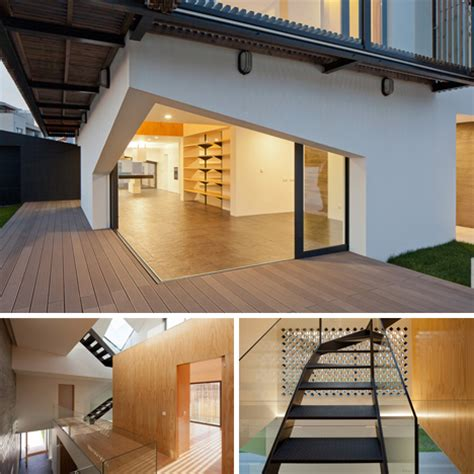 Interior Movers airy portuguese home features movable window louvres