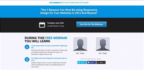 New Optimizepress 2 0 Exles Real Quick Exles Sales Webinar Template