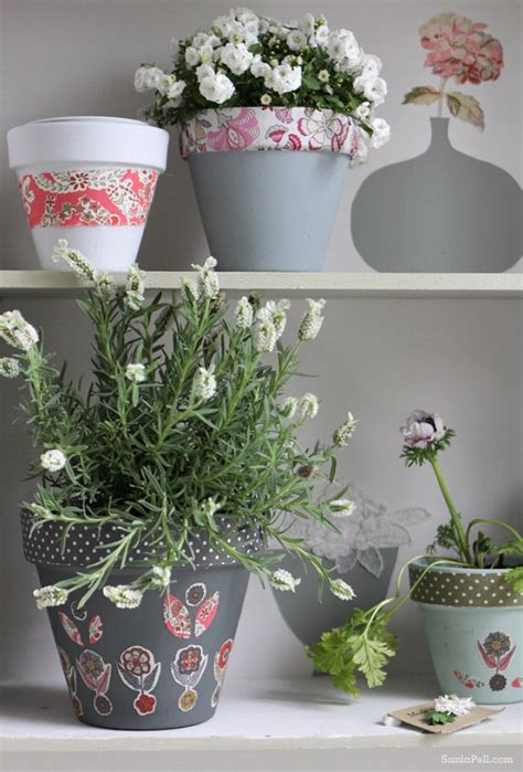 Handmade Pots Design - handmade flower pots make the best gifts