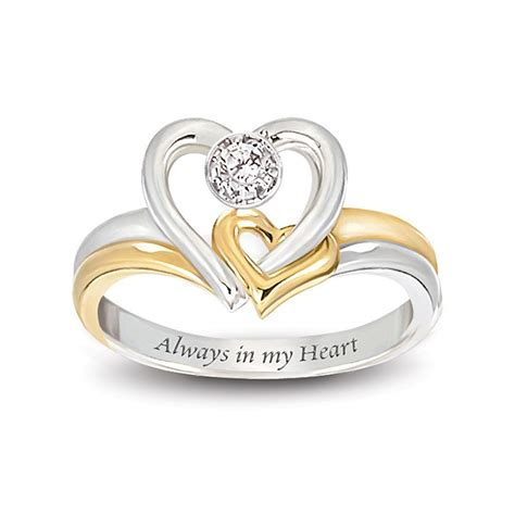Wedding Rings With Hearts by Design Wedding Rings Engagement Rings Gallery Always In