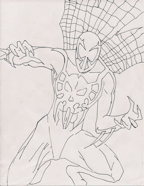 spiderman 2099 a d by kingchaos101 on deviantart