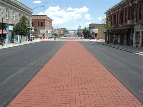 colored asphalt gallery streetscape solutions