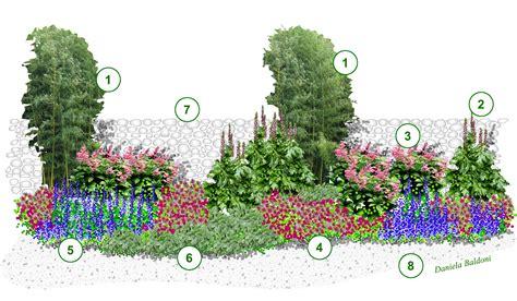 piante da giardino con fiori viola giardini