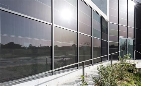 curtain wall spandrel photovoltaic spandrel