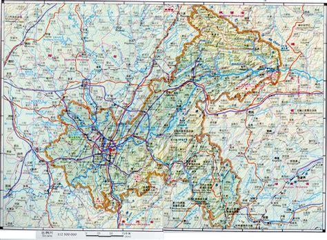 Chongqing Location & Map