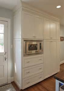 Kitchen Microwave Cabinets Microwave And Pantry Cabinets House Remodel Rehab For Pint