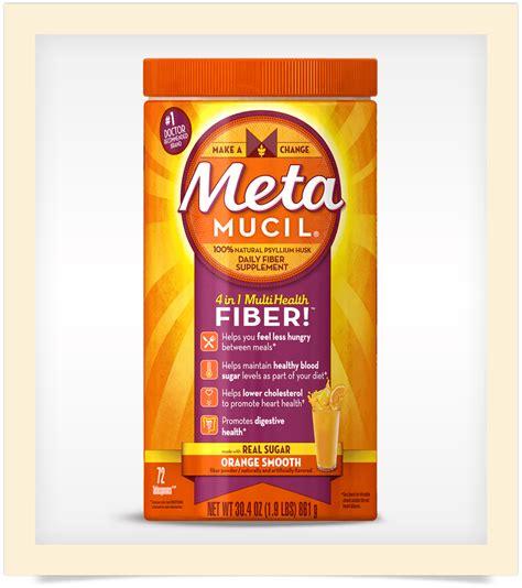 metamucil 174 orange smooth fiber powder
