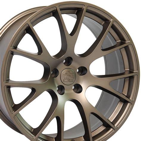 bronze wheels dodge charger challenger bronze hellcat wheel replica