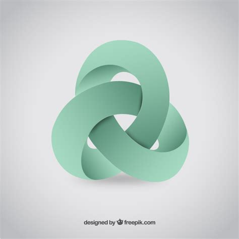 free logo design in 3d abstract 3d logo vector free download