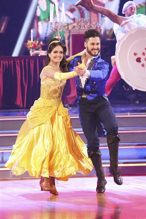 val chmerkovskiy i was in love with danica mckellar our all time favorite costumes from disney night on