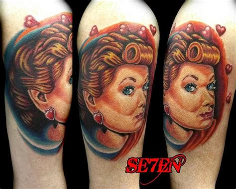 lucille ball tattoo lucille tattoos