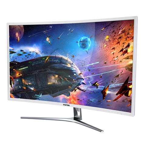 Samsung 32 Inch Curved Monitor Open Box Viotek Nb32c 32 Inch 1080p Hd Led Curved Monitor 16 9 Dvi Hdmi Vga Ebay