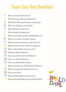 easy roald dahl quiz answers
