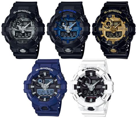 Casio G Shock Ga 700 g shock ga 710 garish color series with metallic