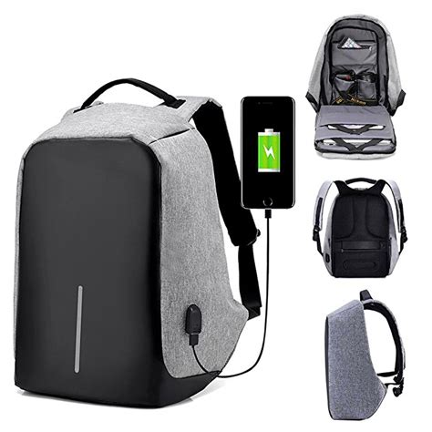 Backpack Laptop Bag Travel With Usb Port D8205w 17 3 Inch Olb1868 anti theft travel laptop backpack with usb charging port 30 80 locodor