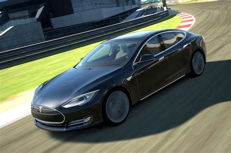 Who Makes A Tesla Model S Tesla Model S Makes Gran Turismo 6 Debut Inside Evs