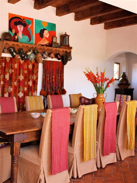 mexican home decor ideas spanish style decorating ideas hgtv