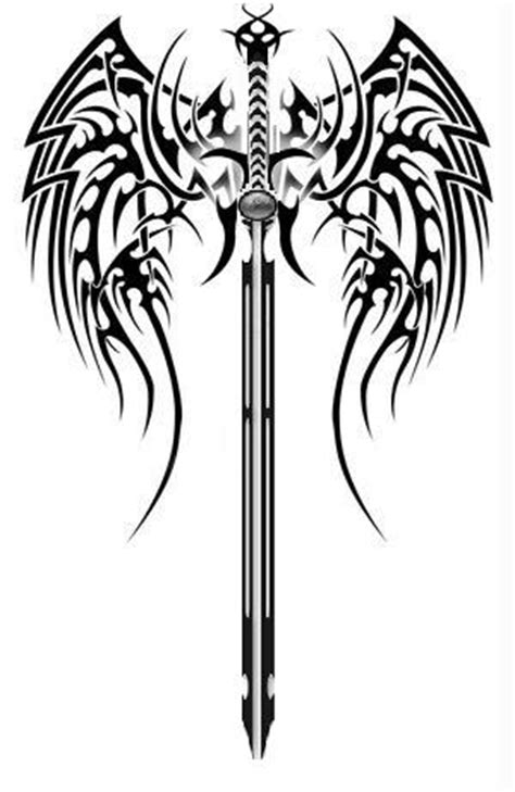 tribal sword tattoo sword images designs