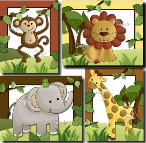 cuadros infantiles animales cuadros safari cuadros infantiles