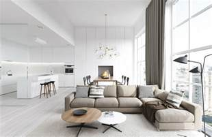 Designer Living Rooms by Spacious Modern Living Room Interiors