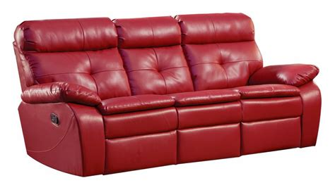 leather sofa loveseat the best reclining sofa reviews red leather reclining