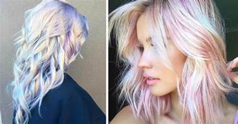 hair trend holographic hair is the hot new trend of 2017