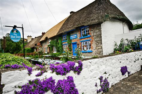 Adare Ireland Thatched Cottages by Thatched Cottages In Adare Ireland Alison Cornford Matheson