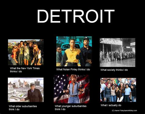 Detroit Meme - february 2012 aaron k foley
