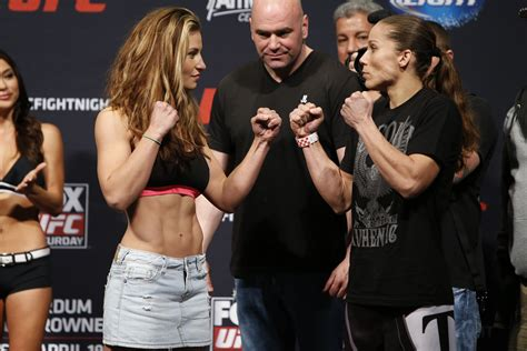 miesha tate talks bad blood with ronda rousey i feel 1000 images about mma stare downs large format on