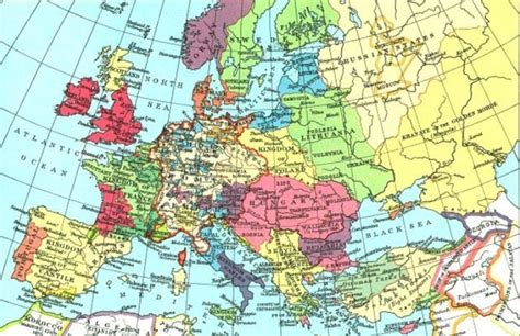 show the map of europe map shows how europe would look if every separatist
