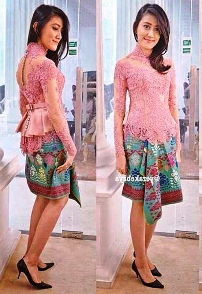 Baju Kebaya Untuk Wisuda 18 koleksi kebaya modern wisuda terbaik 2017 2018 model baju terbaru 2018