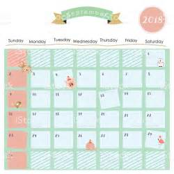 Thailand Calendrier 2018 Colorful January 2018 Calendar With