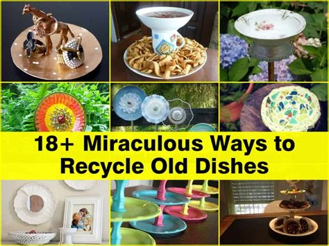 recycle broken crockery 18 miraculous ways to recycle dishes
