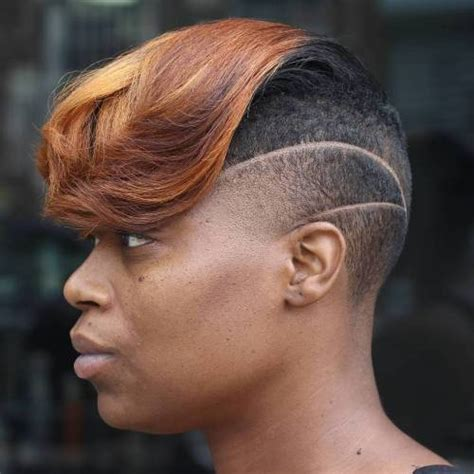 african american women hairstyle thats shaved on both side 50 women s undercut hairstyles to make a real statement