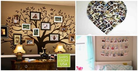 Handmade Photo Collage Ideas - 13 remarkable diy photo collage ideas as decor in your