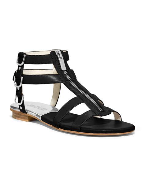 michael kors sandal michael kors michael kennedy flat gladiator sandal in
