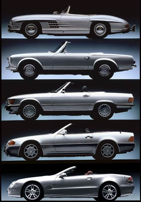 history  mercedes benz sl roadsters motor trend