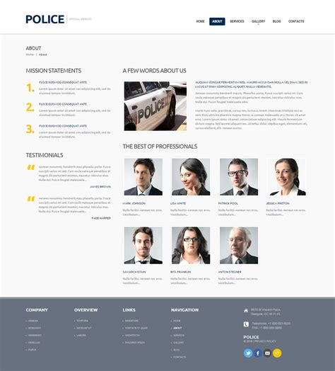 templates for police website wonderful police website template contemporary exle