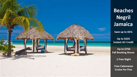 beaches resort negril jamaica beaches negril jamaica traveloni vacations