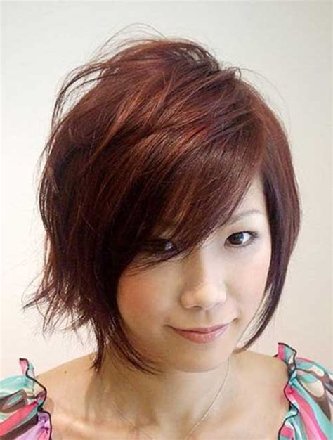 hairstyles for short hair on round faces 10 new layered bob hairstyles for round faces bob