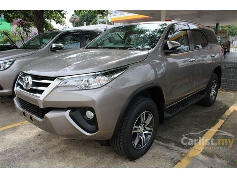 Toyota Fortuner Vrz 2 4 At 2016 toyota fortuner 2016 vrz 2 4 in selangor automatic suv