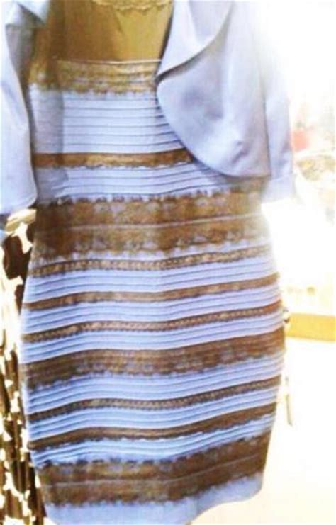 black and white color blind white and gold white and gold dress color blind