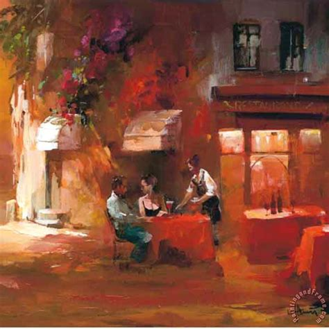 dinner painting willem haenraets dinner for two iii painting for sale