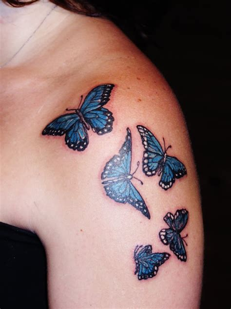 butterfly shoulder tattoos butterfly images designs